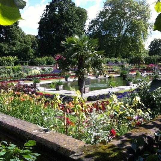 Photo taken at Kensington Gardens by Chris N. on 7/12/2012