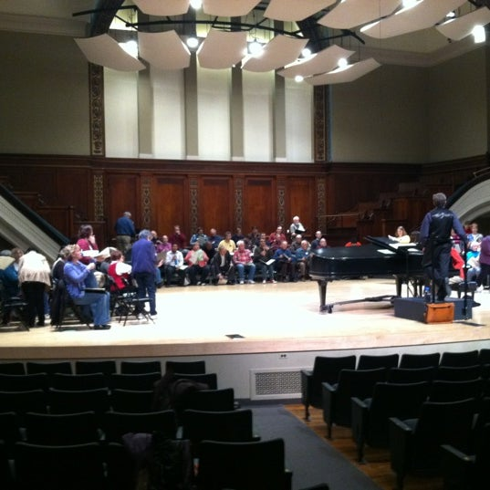 Photo taken at Hochstein School of Music & Dance by Paul T. on 3/7/2012