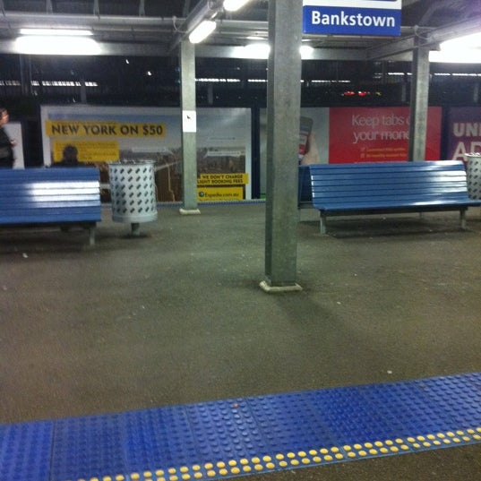 Photo taken at Bankstown Station by Robert V. on 5/4/2011