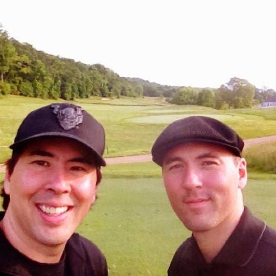 Photo taken at Raspberry Falls Golf & Hunt Club by Chris M. on 5/13/2012