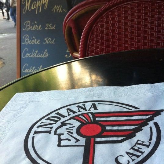 Photo taken at Indiana Café – République by Torrey on 5/14/2011