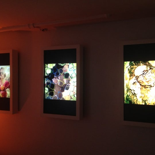Photo taken at SoHo Gallery for Digital Art by Mallory B. on 6/27/2012