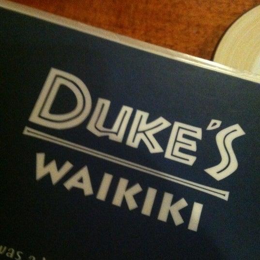 Photo taken at Duke's Waikiki by Jason B. on 5/19/2012