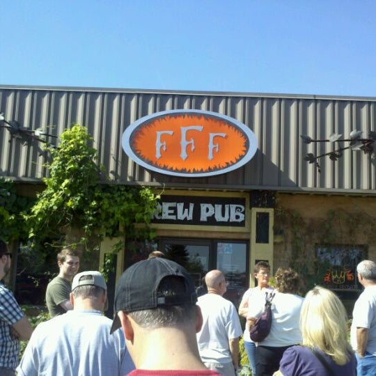 Photo taken at Three Floyds Brewery & Pub by Brian L. on 10/8/2011