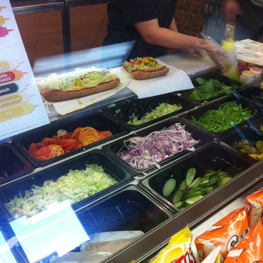 Photo taken at SUBWAY by Steven S. on 11/17/2011