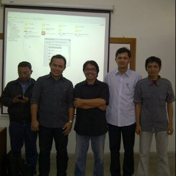 Photo taken at Kampus Tercinta IISIP Jakarta by Djony H. on 12/24/2011