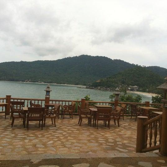Photo taken at Santhiya Resort And Spa Koh Phangan by Colm H. on 4/2/2012