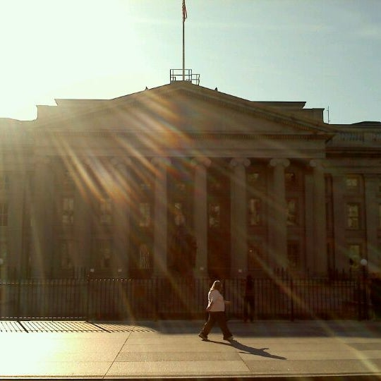Photo taken at US Department of the Treasury by Stacey R. on 12/31/2011