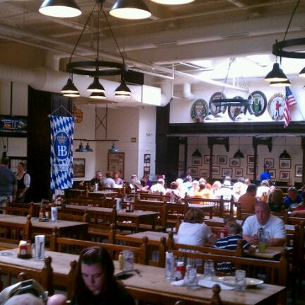 Photo taken at Hofbräuhaus Newport by Michael W. on 5/20/2012