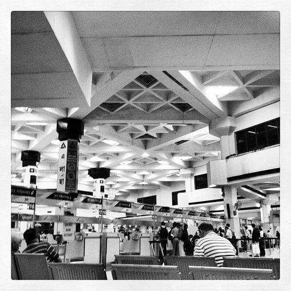 Photo taken at Netaji Subhash Chandra Bose International Airport (CCU) by Alexander P. on 4/19/2012