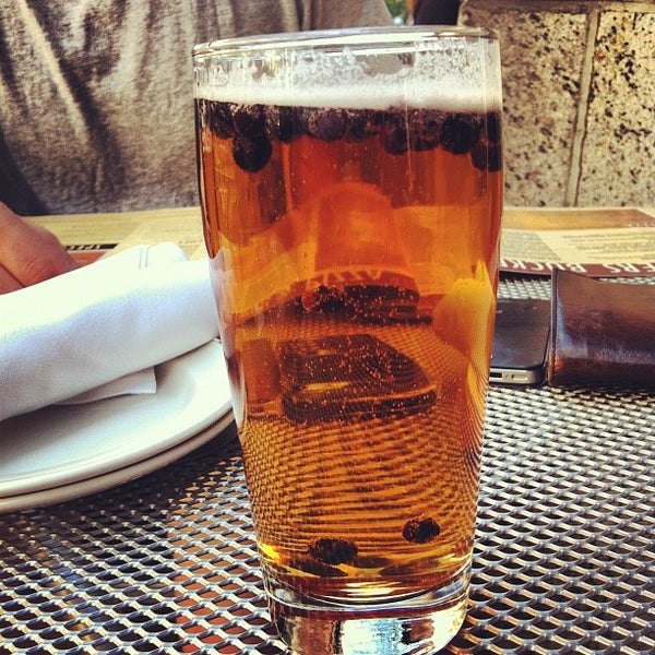 Photo taken at Boston Beer Works by Mirella C. on 5/12/2012