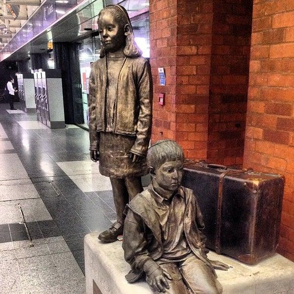 Photo taken at London Liverpool Street Railway Station (ZLS) by iDimka on 5/26/2012