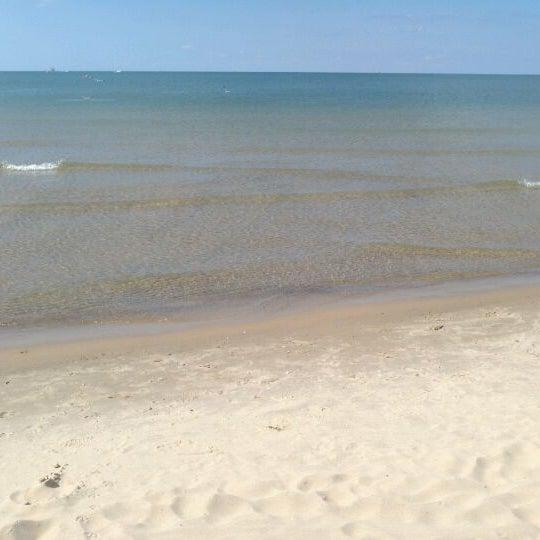 Photo taken at Silver Beach by Jeff W. on 9/17/2011