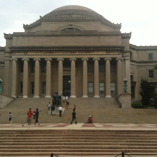 Photo taken at South Lawn Columbia University by Aubrey F. on 6/30/2012
