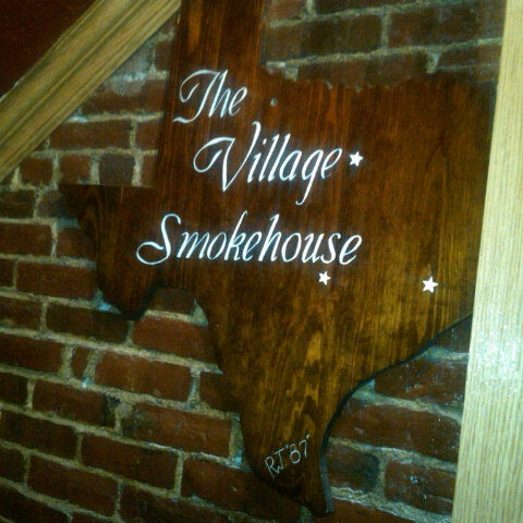 Photo taken at The Village Smokehouse by Ben K. on 8/30/2012