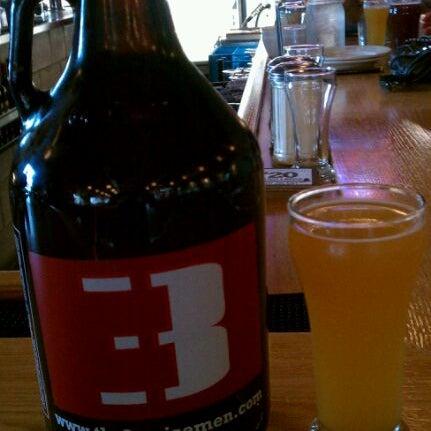 Photo taken at Thr3e Wise Men Brewing Co. by Ashton E. on 4/3/2012
