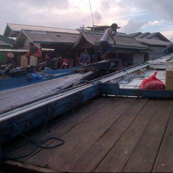 Photo taken at Pelabuhan speedboat kampung baru by Firly M. on 6/20/2012