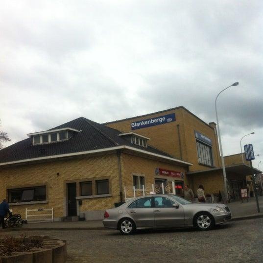Photo taken at Station Blankenberge by Davy V. on 4/7/2012