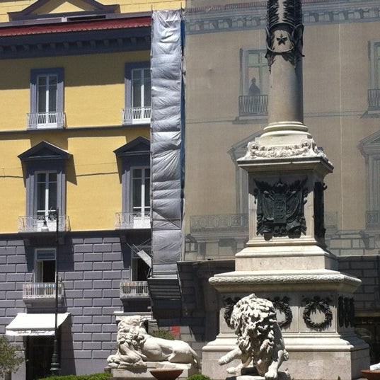 Photo taken at Piazza dei Martiri by Antonio M. on 6/16/2012