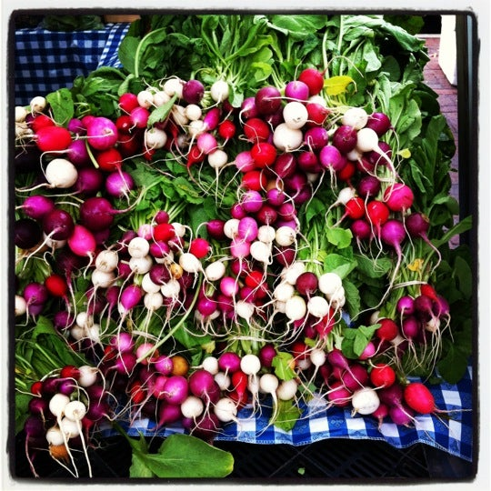 Photo taken at Dane County Farmers' Market by Samantha J. on 5/12/2012