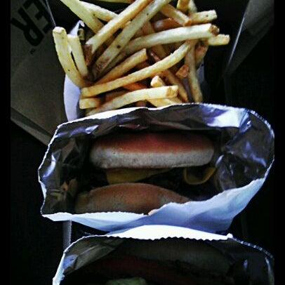 Photo taken at M Burger by @jayelarex on 5/13/2012