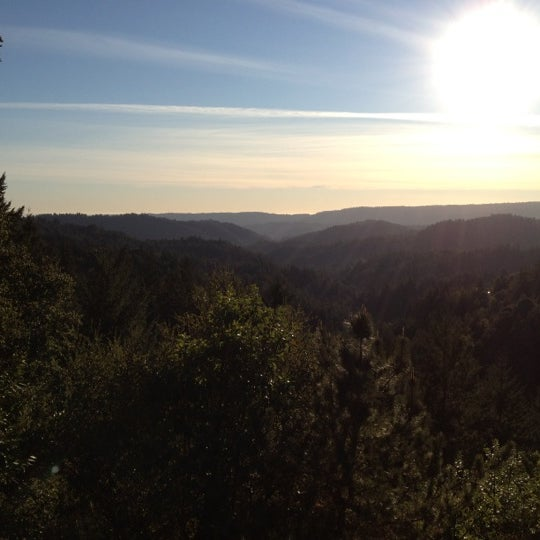 Photo taken at Santa Cruz Mountains by Ariel L. on 1/8/2012