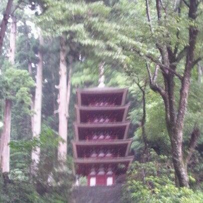 Photo taken at 室生寺 by nosenose s. on 8/11/2012