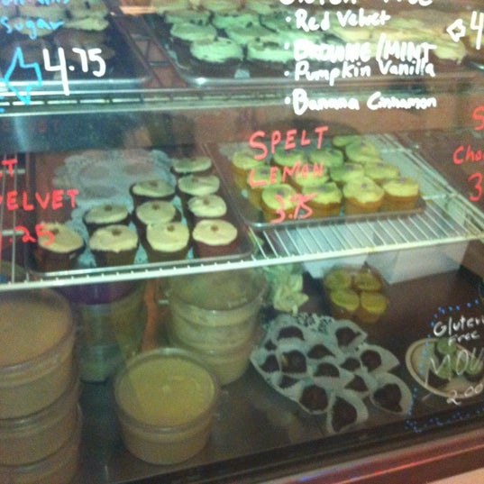 Photo taken at Erin McKenna's Bakery by Ethan t. on 4/13/2012