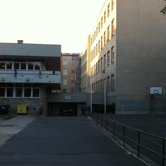 Photo taken at Budai Középiskola by Péter Tivadar J. on 6/25/2011