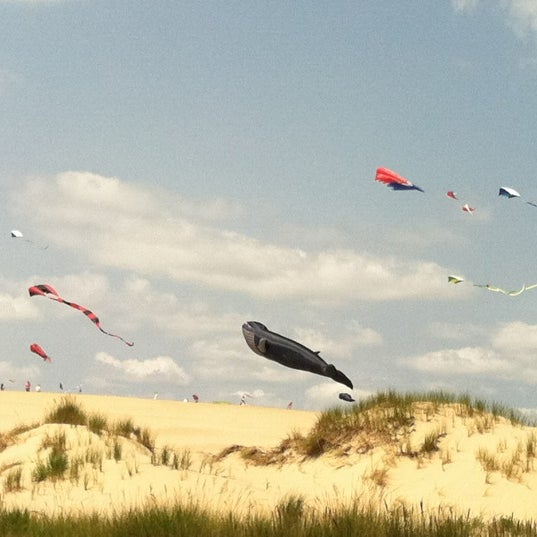 Photo taken at Jockey's Ridge State Park by Amanda S. on 11/10/2011