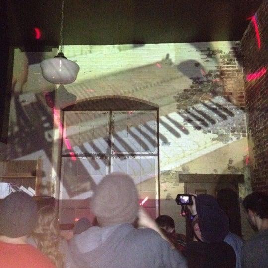 Photo taken at Vermillion Gallery & Wine Bar by scottiemack on 4/8/2012