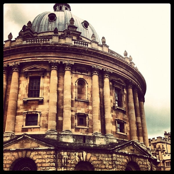 Photo taken at Radcliffe Camera by Danny D. on 5/12/2012