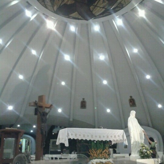 Photo taken at Sto. Niño de Paz Community Chapel by Vanessa M. on 8/11/2012