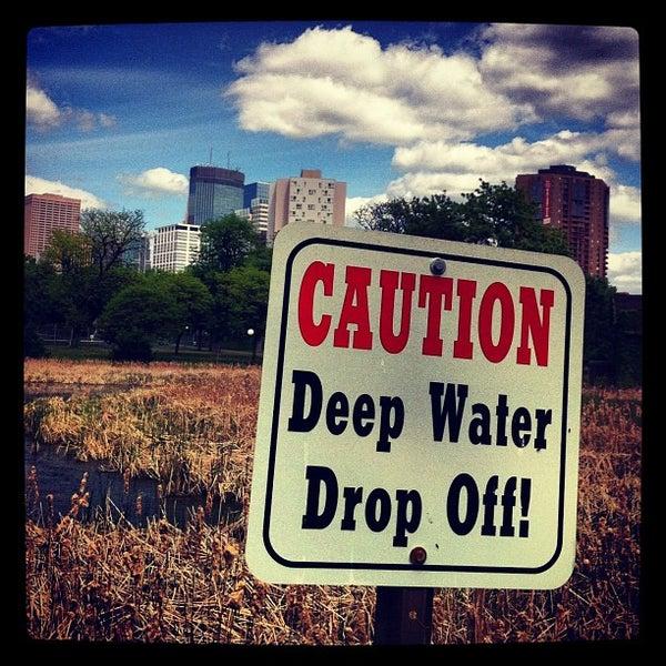 Photo taken at Loring Park by Richard M. on 5/9/2012