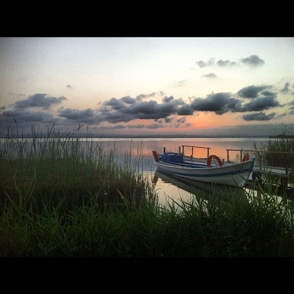Photo taken at La Albufera by Javier C. on 8/17/2012