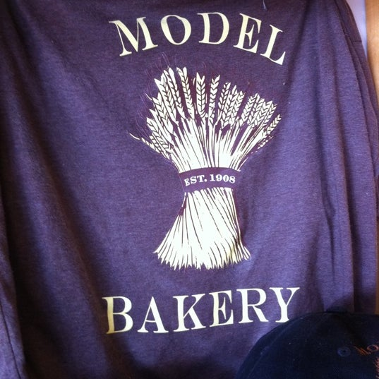Photo taken at Model Bakery by Barry C. on 5/26/2011