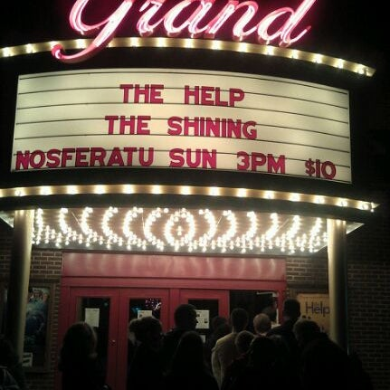 photos at the grand theater east greenville pa