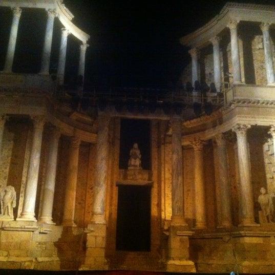Photo taken at Anfiteatro Romano by Eva M. on 8/25/2012