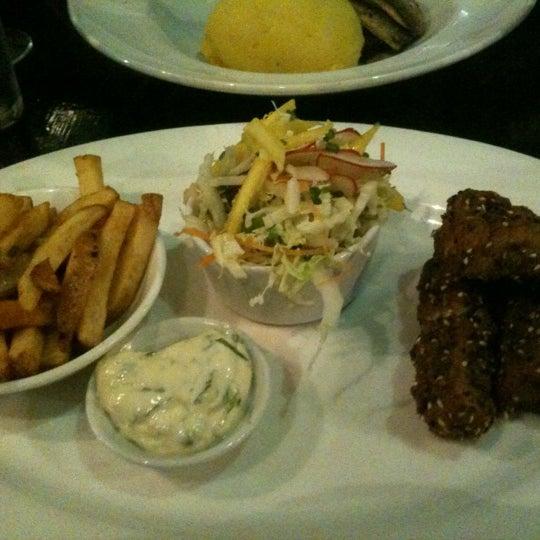 Photo taken at Mourne Seafood Bar by Juan V. on 8/14/2012