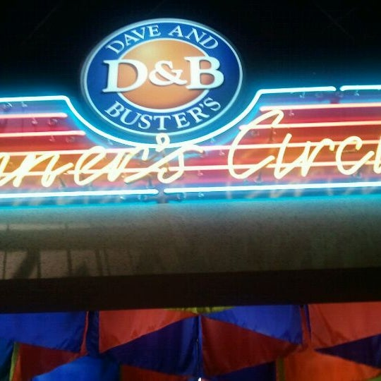Photo taken at Dave & Buster's by Randy S. on 8/17/2011