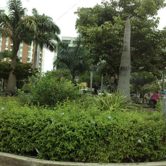 Photo taken at Parque Las Palmas by Sergio M. on 1/3/2012