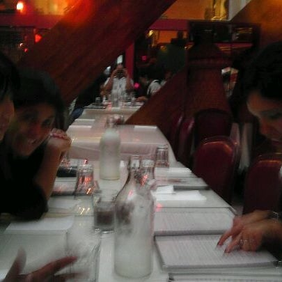 Photo taken at New Eritrea Restaurant & Bar by Vincent K. on 8/20/2011