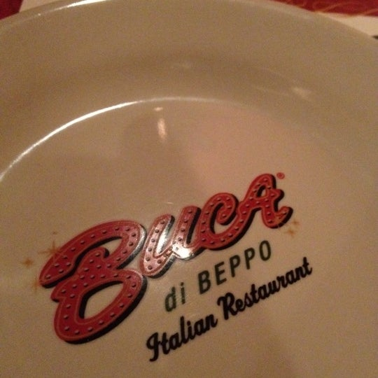 Photo taken at Buca di Beppo Italian Restaurant by Mansor A. on 7/4/2012