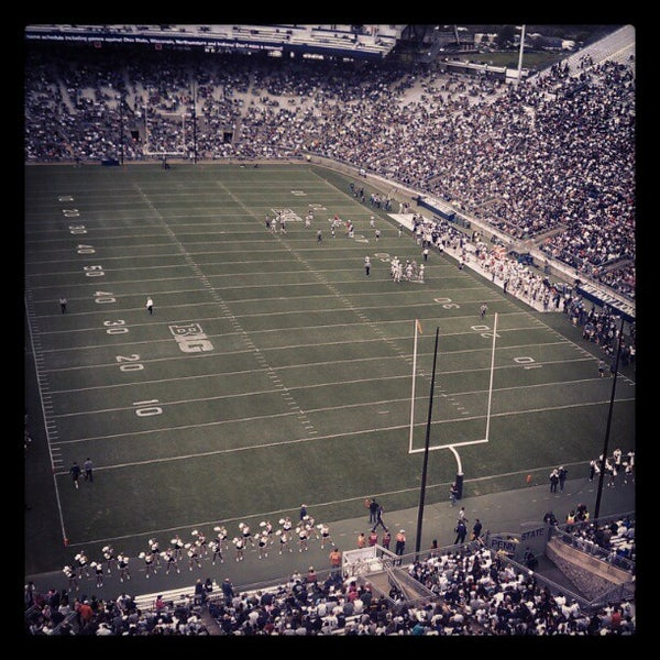 Photo taken at Beaver Stadium by Scott I. on 4/21/2012
