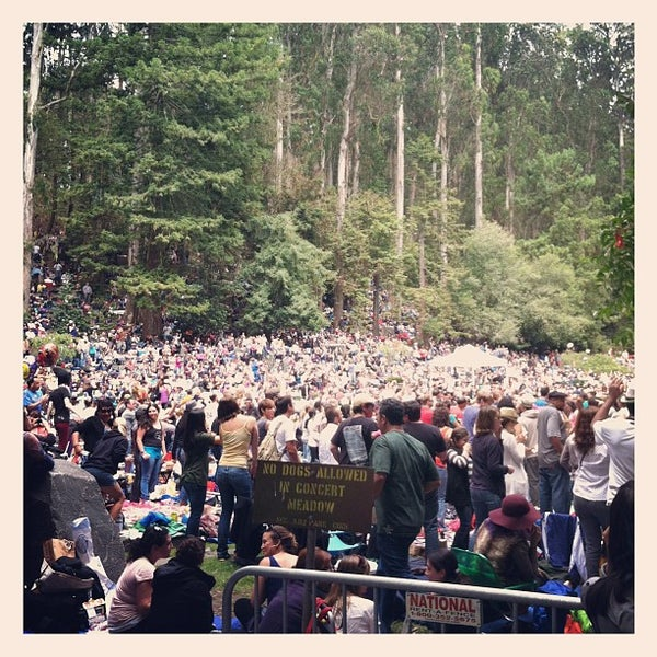 Photo taken at Sigmund Stern Grove by Dan K. on 8/5/2012