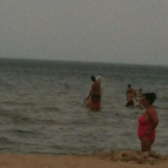 Photo taken at Silver Beach by Jodi P. on 6/16/2012