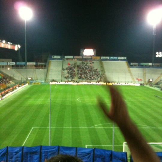 Photo taken at Stadio Ennio Tardini by Giancarlo L. on 9/25/2011