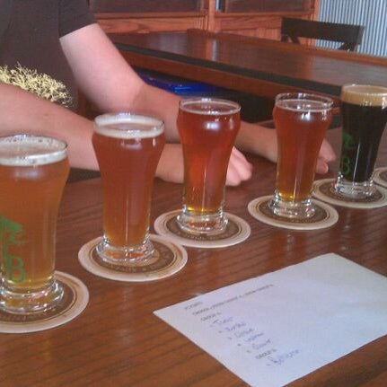 Photo taken at Greenbush Brewing Company by Larry G. on 10/10/2011