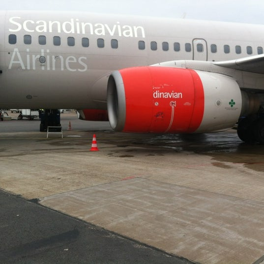 Photo taken at Ängelholm-Helsingborg Airport (AGH) by Jonas H. on 3/7/2012