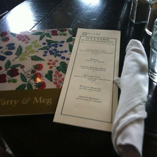 Photo taken at Watty & Meg by Lauren M. on 7/28/2012